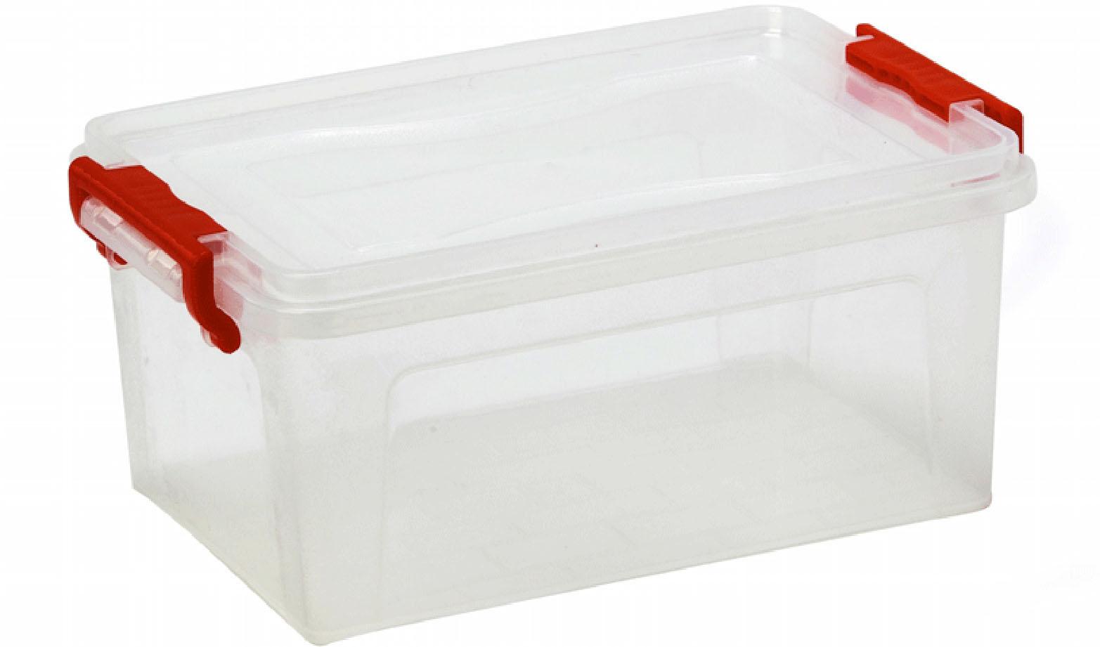 Контейнер для хранения пластик с крышкой