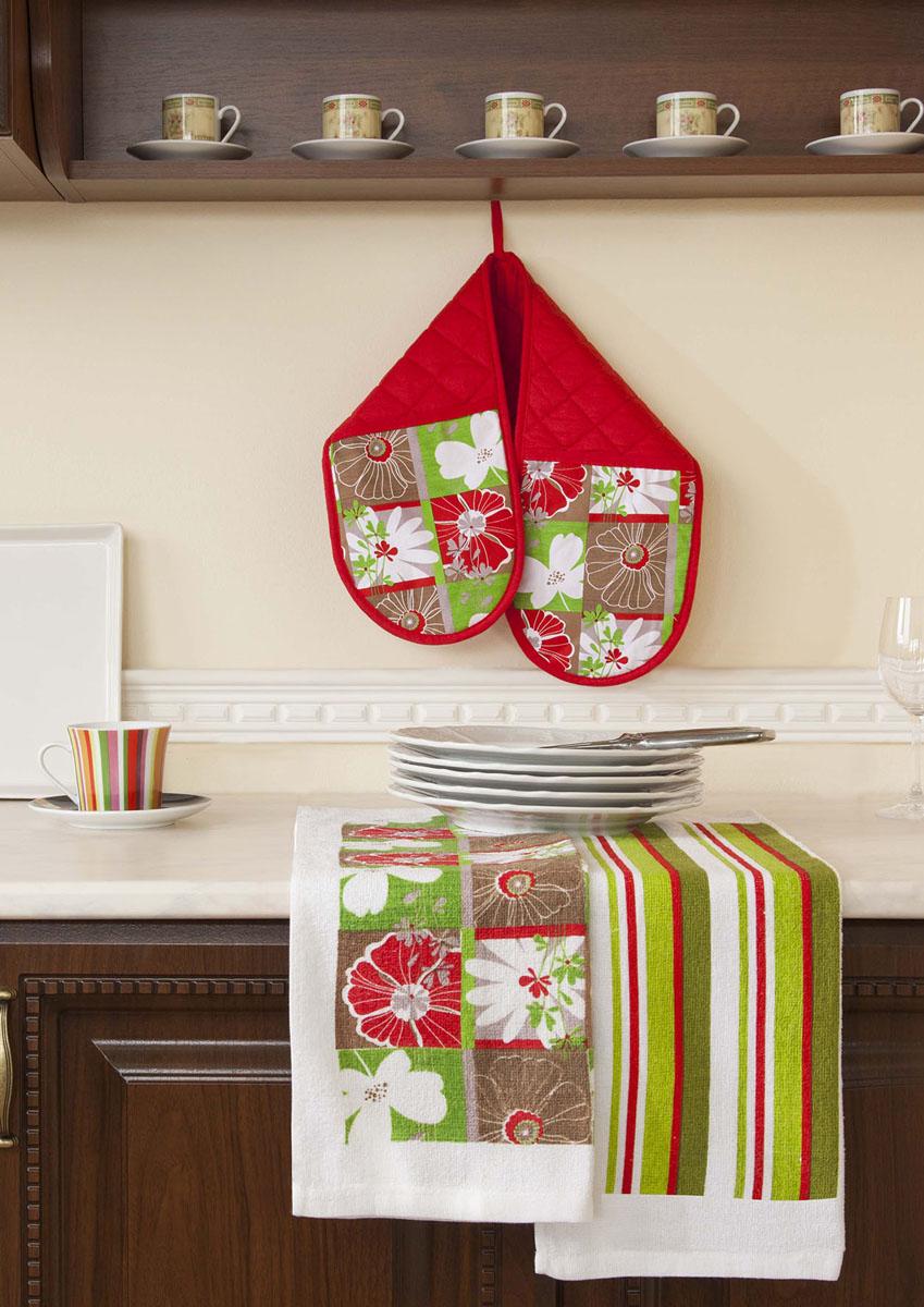 Красивое полотенце для кухни