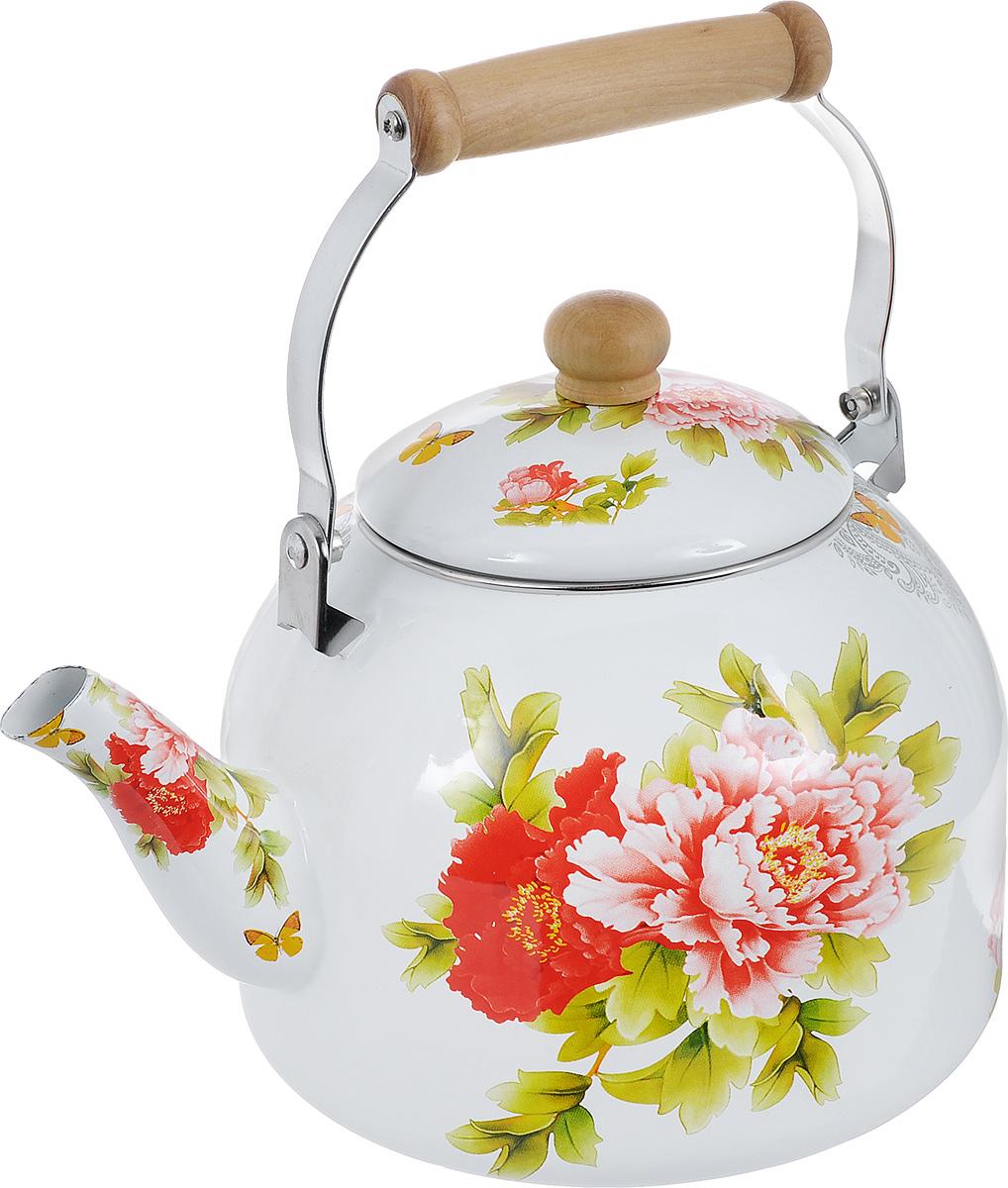 купить эмалированный чайник для плиты