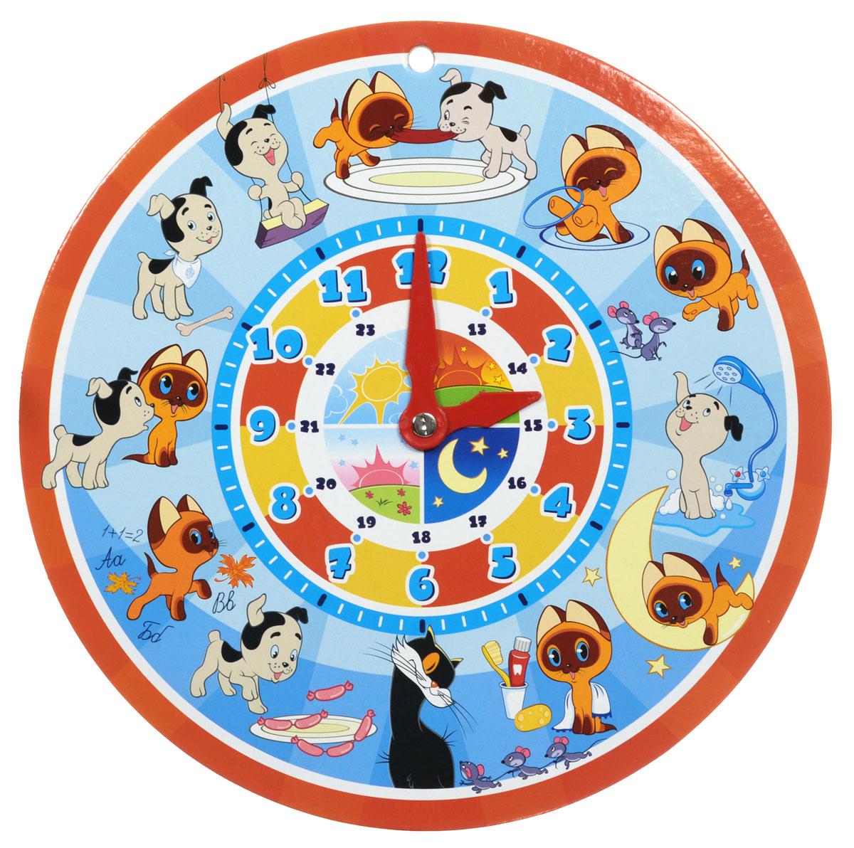 Часы для ребёнка своими руками 81