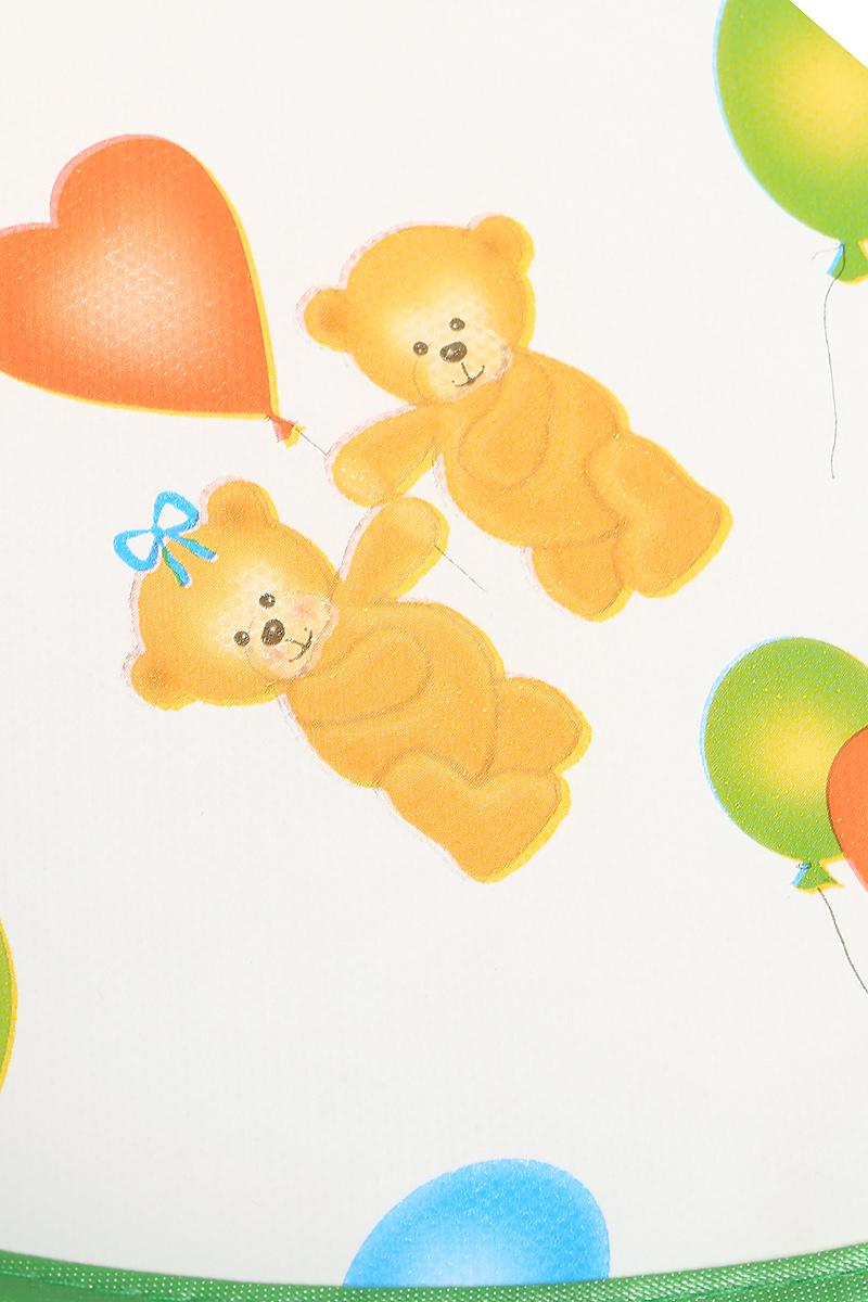 Картинки мишка с шариками и цветами, для души