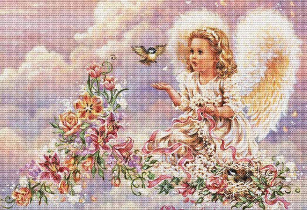Днем рождения, ангелы картинки