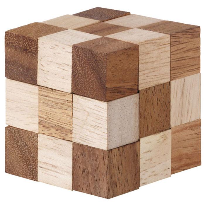 Кубик рубик из дерева