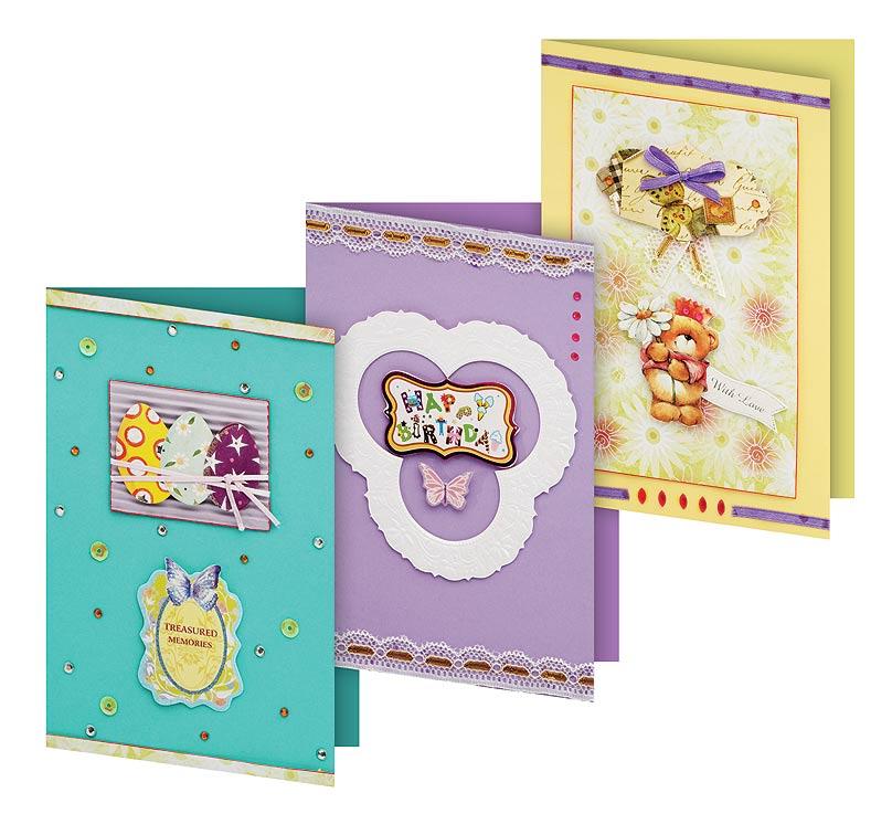 Наборы для открытки